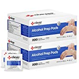 Alcohol Prep Pads, Medium 2-Ply - 400 Alcohol