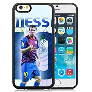 Unique DIY Designed Case For iPhone 6 4.7 Inch TPU With Soccer Player Lionel Messi 35 Cell Phone Case