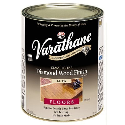 1 Gal Classic Clear Diamond Wood Finish For Floors Gloss [Set of - Finish Wood Diamond