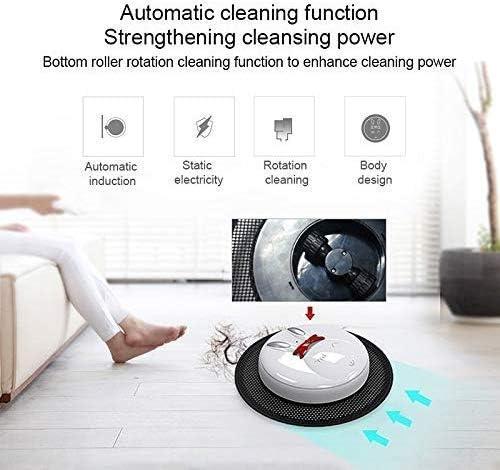 QHYY Aspirateur Intelligent 4.8V Machine de vadrouille entièrement Automatique Robot de Nettoyage à Haute efficacité de 90 Minutes