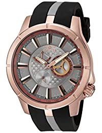Invicta Men's 'S1 Rally' Quartz Stainless Steel and Polyurethane Casual Watch, Color: Two Tone (Model: 20334)