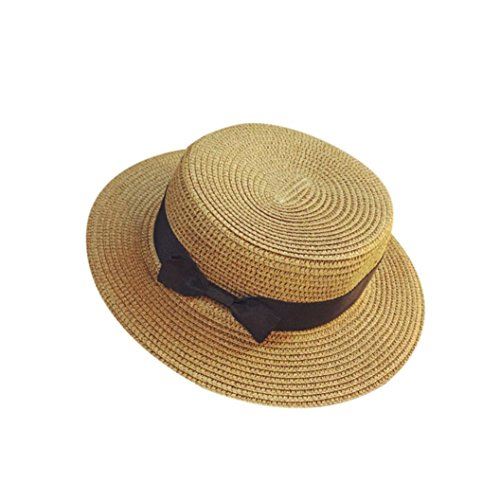 Summer Hats-Unisex Men Women Packable Fedora Trilby Straw Sun Beach Hats  Clearance (Black)  Amazon.co.uk  Sports   Outdoors 040527cbdad8