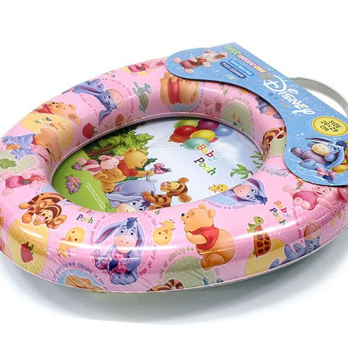 Disney Pooh Potty Training Seat Cover Toilet Chair for Child Baby Kids