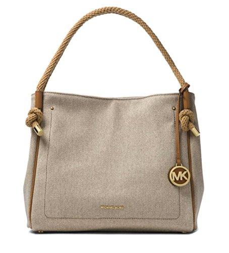 MICHAEL MICHAEL KORS Isla Large Textured Grab Bag, (Trim Verge)