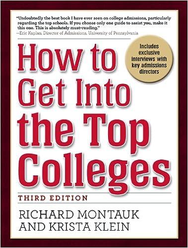 Descarga electrónica de libros electrónicos gratis.How to Get Into the Top Colleges, 3rd ed (Spanish Edition) PDF FB2 by Richard Montauk