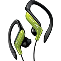 JVC HAEB75G Sports Clip Headphone, Green