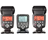 560TX-WITH-560IIIx2pcsYongnuo YN560-TX LCD Wireless Manual Flash Controller + 2pcs YN-560 III Manual Flash Speedlite Light For Canon EOS 650D 600D 550D 500D 450D 400D 350D 300D 5D 5DII 5DIII 1D 1Ds 7D DSLR