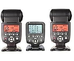 560TX-WITH-560IIIx2pcsYongnuo YN560-TX LCD Wireless Manual Flash Controller + 2pcs YN-560 III Manual Flash Speedlite Light For Canon EOS 650D 600D 550D 500D 450D 400D 350D 300D 5D 5DII 5DIII 1D 1Ds 7D DSLR