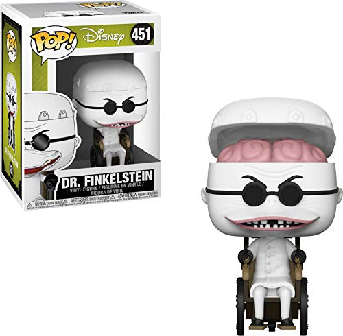 Halloween Town Mayor Kingdom Hearts (Funko Pop Disney: Nightmare Before Christmas - Dr. Finklestein Collectible Figure,)