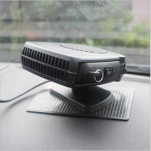 Heater 12V Portable Car Vehicle Heating Heater Fan Car Defroster Demister Free