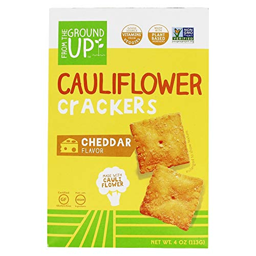 Top recommendation for ground up cauliflower crackers