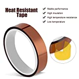 2 Rolls 10mm X 33m 108ft Heat Tape Heat Resistant