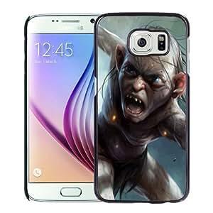 Beautiful Custom Designed Cover Case For Samsung Galaxy S6 With Gollum The Hobbit 640x1136 Phone Case WANGJING JINDA