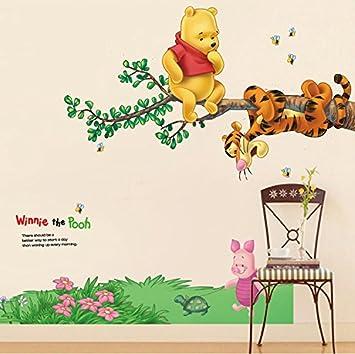 Kibi Disney Winnie Puuh Freunde Freizeitspass Wandtattoo Wandtattoo Winnie Pooh Kinderzimmer Wandsticker Winnie Puuh Aufkleber Winnie Pooh