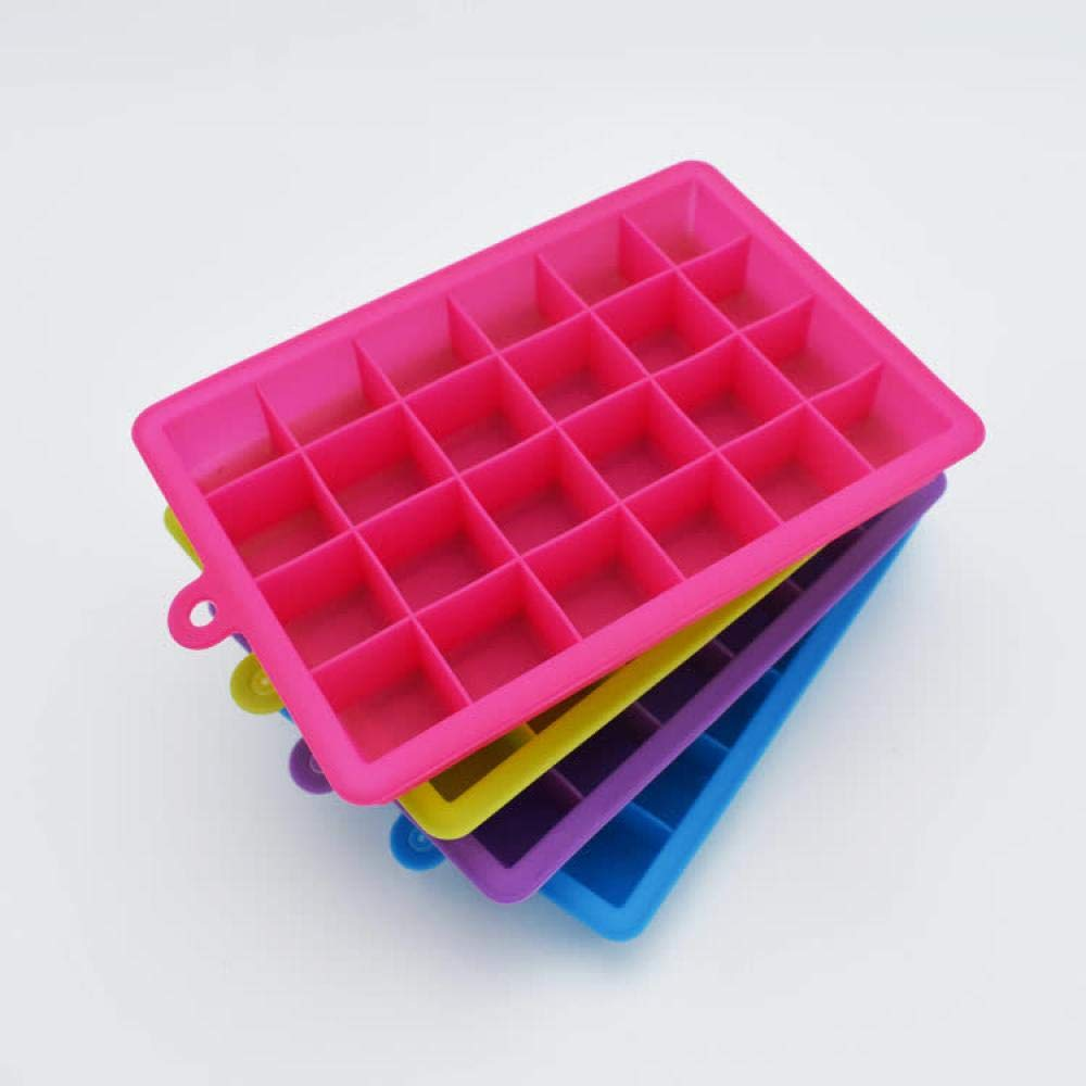 Moldes de silicona para cubitos de hielo Alvar, 24 cubitos de ...