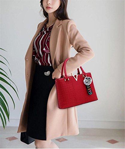 Capacity gules Shoulder Cross Handbag Women'S Package Single Slanted Large Tq5xY8