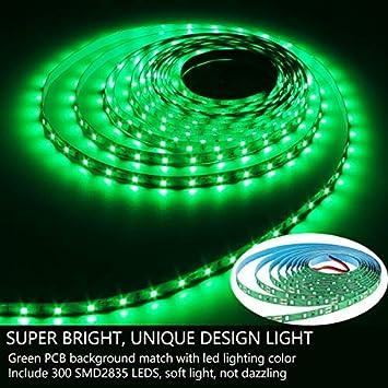 Party Non-Waterproof 16.4Ft 300 LEDs Tape Lights for Home Blue Coating DIY Decor and More HOMELYLIFE 12V LED Strip Light Blue SMD 2835
