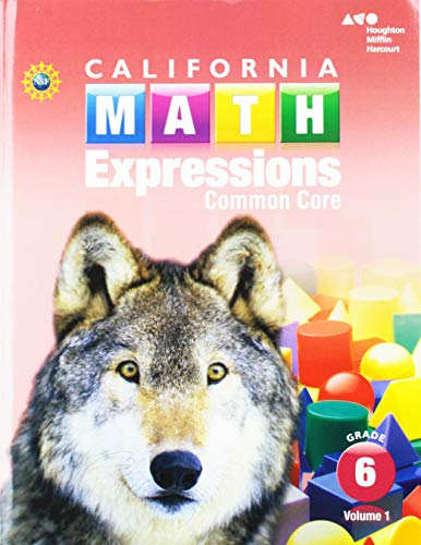 Houghton Mifflin Harcourt Math Expressions: Student Activity Book Collection softcover Grade 6 2015 (Grade 6 Math Expressions)