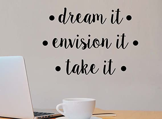 Review Dream it envision it