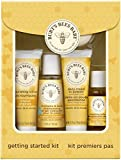Burt's Bees Baby Getting Started Gift Set, 5 Trial Size Baby Skin Care Products – Lotion, Shampoo & Wash, Daily Cream-to-Powder, Baby Oil and Soap