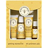 Burt's Bees Baby Getting Started Gift Set, makes a welcome baby gift for a new mom. It has everything a mama needs to gently care for her little one's delicate skin. This 5 piece gift set comes in an attractive box making it the perfect gift for Moth...