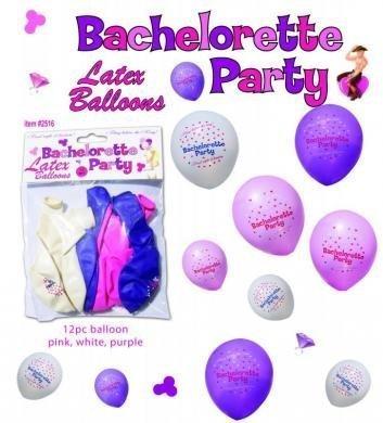 Bachelorette Party Balloons 12Pc natcha fon TRTAZ11A
