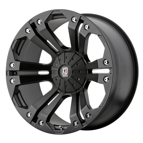 XD Series by KMC Wheels XD778 Monster Matte Black Wheel (20x10