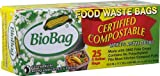 BioBag Compostable Waste Bags, 3 Gallon - 25 count per box
