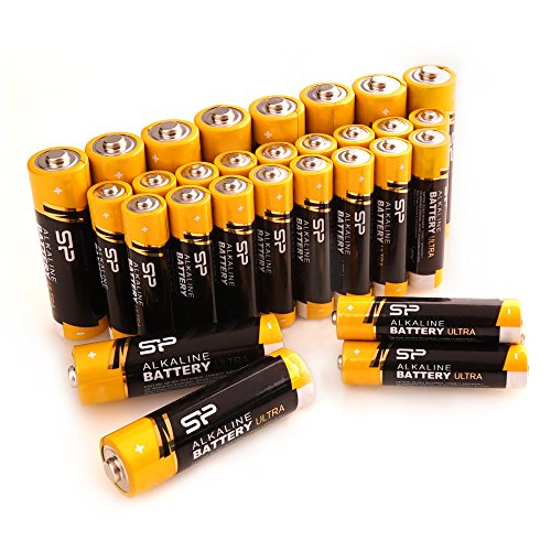 Silicon Power AA 10PK + AAA 20PK Alkaline Batteries Performance, Combo Pack, SPAL32ABAT30SV1K