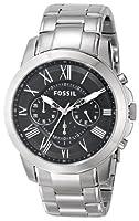 Fossil Men's FS4736 Grant Stainless Stee...