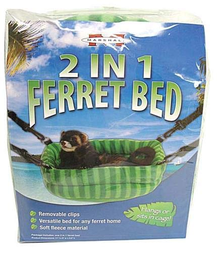- Marshall Pet 2-in-1 Ferret Bed