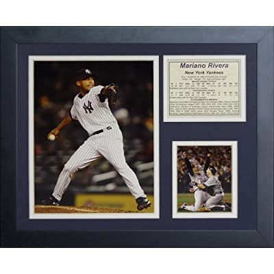 Legends Never Die Mariano Rivera Framed Photo Collage, 11x14-Inch by Legends Never Die