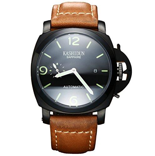 KASHIDUN KASHIDUN.Men's Army Watches Mechanical Watch High-tech Carbon Ceramic Case relogio masculino.Jun-Z