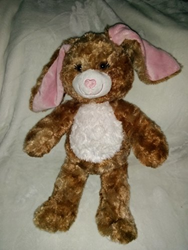 Brown Easter Bunny (Build a Bear Workshop 16 Brown Bunny Rabbit Plush w/Pink Floppy Ears by Build-a-Bear-Workshop)