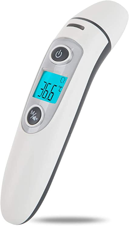 Termometro De Oido Y Frente Por Infrarrojos Amazon Es Bebe Entrega inmediata a domicilio de 1 a 4 horas en cientos de productos. termometro de oido y frente por infrarrojos