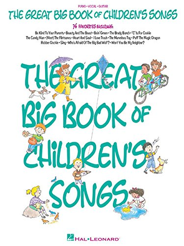 Amazon.com: The Great Big Book of Children\'s Songs (0073999602029 ...