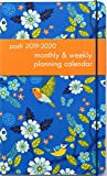 Posh: Birds & Blossoms 2019-2020 Monthly/Weekly Planning Calendar