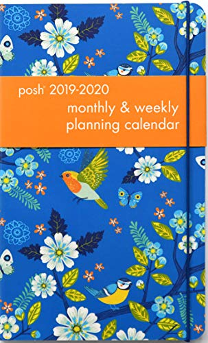 Posh: Birds & Blossoms 2019-2020 Monthly/Weekly Planning Calendar from Andrews McMeel Publishing