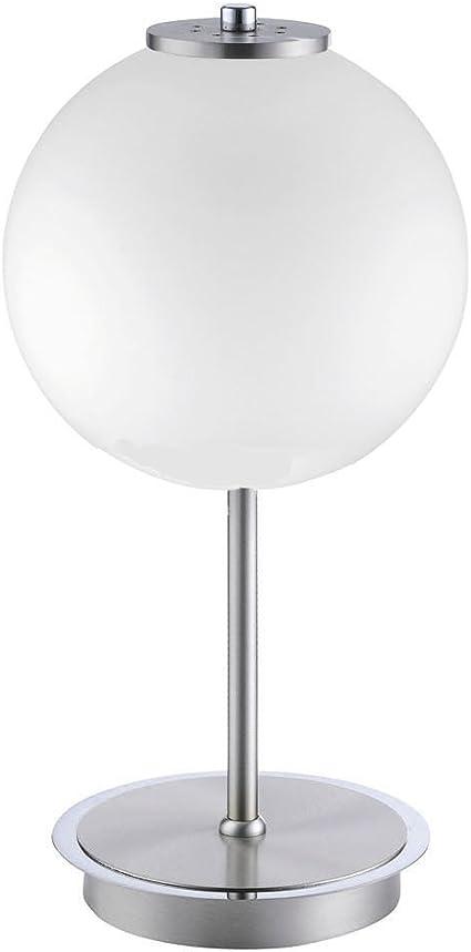 Lampada Da Tavolo A Led Con Paralume In Vetro Opale Opaco Sfera Bianca O 18 Cm Amazon It Illuminazione