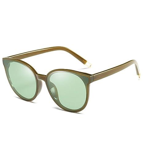 Gafas de sol polarizadas Semi Rimless Retro Art Semi Semi mujer polarizadas Hombre Retro Brand Gafas