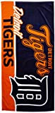 MLB Detroit Tigers Short Stop Oversized Beach Towel, 34 x 70-inches