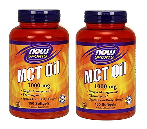NOW Sports MCT Oil  1,000 mg,150 Softgels