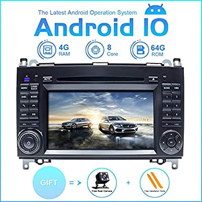 Android Car Radio Stereo ZLTOOPAI For Mercedes Benz Sprinter B200 Vian...