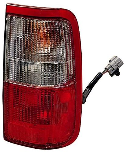 Depo 312-1908L-US Toyota T100/Pickup Driver Side Replacement Taillight Unit without (T100 Pickup Drivers Side Tail)