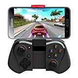 PowerLead GapoiPega PG-9033 Bluetooth Game Controller Joystick Wireless Game Controller for Samsung HTC Sony Android Smart Phone Tablet PC TV BOX (Black)