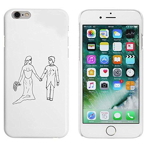 Blanc 'Mariée et Marié' étui / housse pour iPhone 6 & 6s (MC00055514)