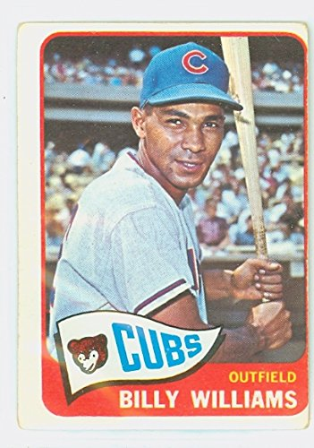 Motiv Frame Single (1965 Topps Baseball 220 Billy Williams Chicago Cubs Fair to)