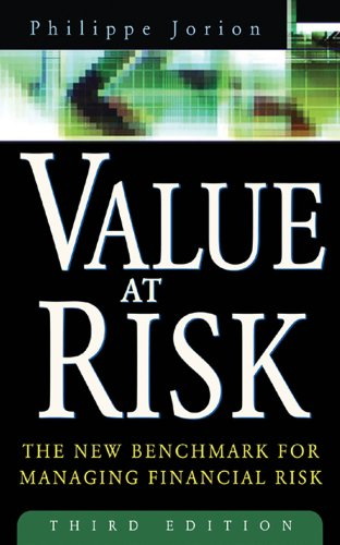 Amazon value at risk 3rd ed the new benchmark for managing value at risk 3rd ed the new benchmark for managing financial risk by fandeluxe Choice Image