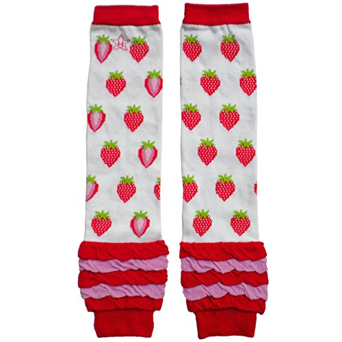 Strawberry Shortcake Outfit For Babies (Huggalugs Sale Toddler Girls Strawberry Print Leg Warmers (Regular-fits 6 months to 8 years,)