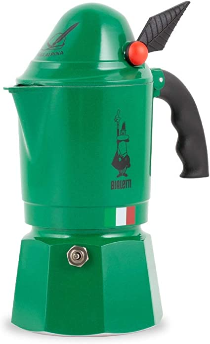 Bialetti Moka Express Alpina Cafetera Italiana Espresso, 3 Tazas ...
